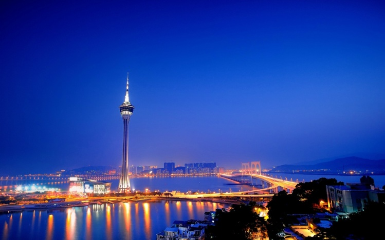 Macau Tower, Macau standing 233 m above sea level